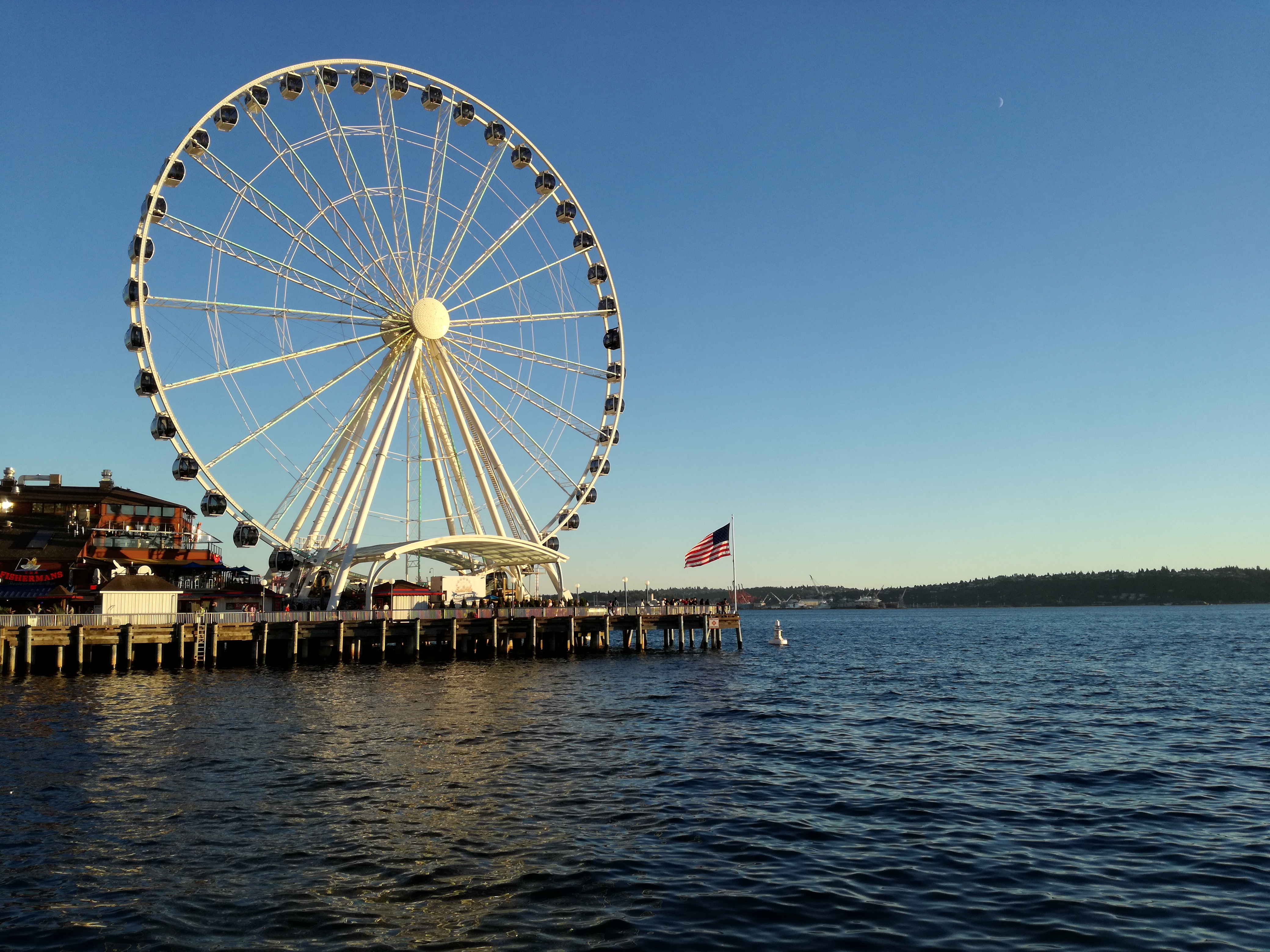 The Seattle pier
